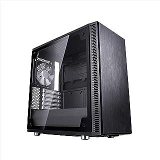 Fractal Design Define Mini C Templado Cristal mATX/ITX PC de Ordenador–Negro