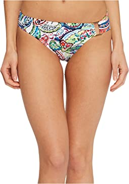 Cabana Paisley Ring Front Hipster Bottom
