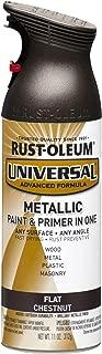 Rust-Oleum 271471 Universal All Surface Spray Paint, 11 oz, Flat Metallic Chestnut