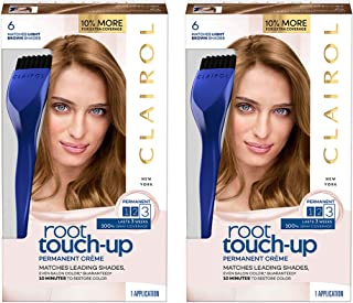 Clairol Root Touch-up, 6 Light Brown, 2 Count