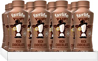 fairlife YUP! Low Fat, Ultra-Filtered Milk, Rich Chocolate, 14 fl oz, 12 count