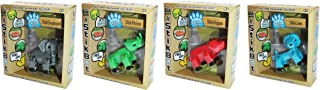 Zing S1282 Stikbot Safari Pets Pack of 4, Blind Assortment