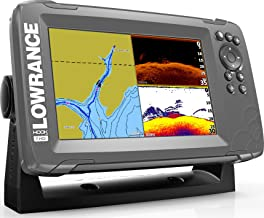 Lowrance HOOK2 7 - 7-inch Fish Finder with SplitShot Transducer and US/Canada Navionics+ Map Card …