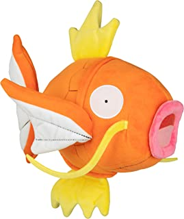 PoKéMoN Flopping Magikarp Plush - 10 Inch Interactive Pokemon Fish Toy Flops, Wiggles and Shakes - Age 4+