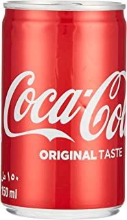 Coca Cola Carbonated Soft Drink, Can-150 Ml