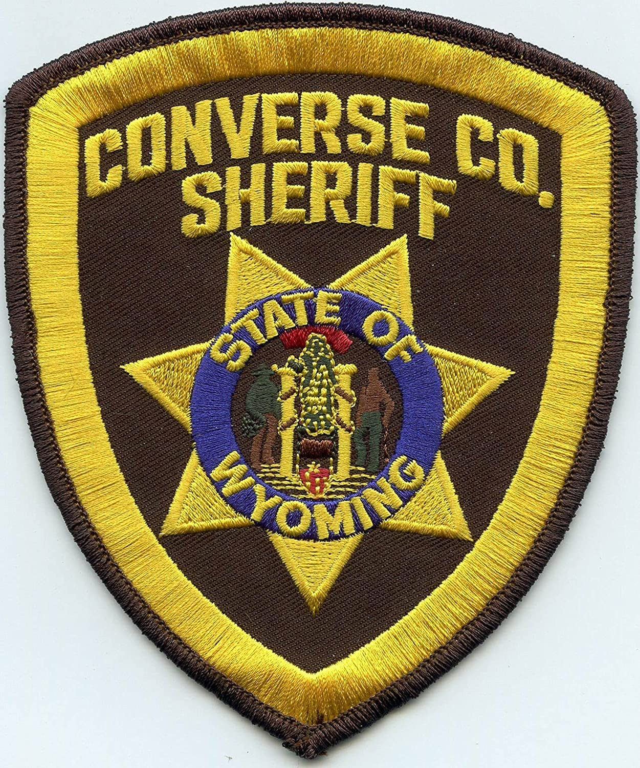 by SFI Converse County Wyoming Tampa Mall Cheap Patch Sheriff WY Police