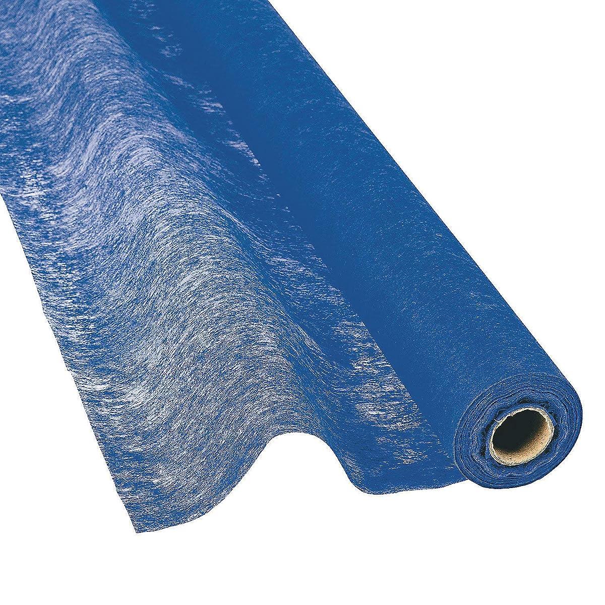 Fun Express - Blue Gossamer for Wedding - Party Decor - Wall Decor - Misc Wall Decor - Wedding - 1 Piece