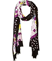 Kate Spade New York - Mixed Stripe Oblong Scarf