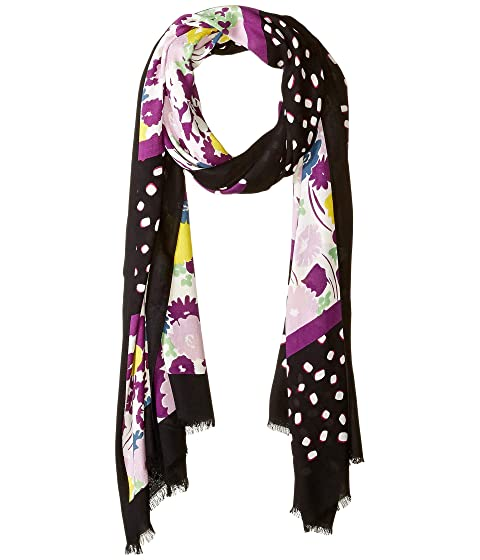Kate Spade New York Mixed Stripe Oblong Scarf