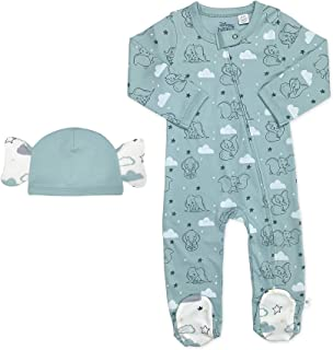 Finn + Emma Baby Girls' Organic Cotton Footie for Baby Boy or Girl 窶