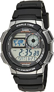 Casio Men's Black Dial Resin Digital Watch - AE-1000W-1BVDF