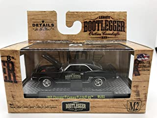 M2 Machines Bootlegger 1969 Chevrolet Camaro Z/28 RS BL02 16-29 Black Details Like NO Other! Over 42 Parts 1 of 9800 Worldwide