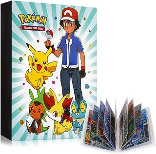 Album Pokemon Carte, Porte Cartes Pokemon, Pochette de Carte Pokemon, Catalogue Pokemon, Livre Pour Carte Pokemon, Protège...