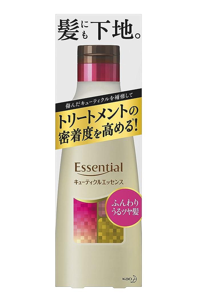 検出する許すトンネルエッセンシャル ふんわりうるツヤ髪 キューティクルエッセンス 250g (インバス用)