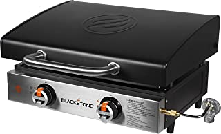Blackstone 1813 Tabletop Griddle with Hood, 22 Inch, Black