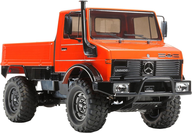 Dickie - Tamiya 300058609 - 1 10 RC Mercedes Benz Unimog 425(CC-01)Fahrzeuge