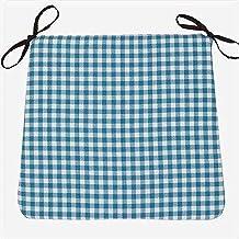 Almofada de cadeira antiderrapante com laços Almofada de cadeira, almofada de algodão e linho, almofada de assento decorat...