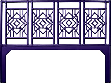 Inspired by David Francis Tobin Headboard King Perfect Purple