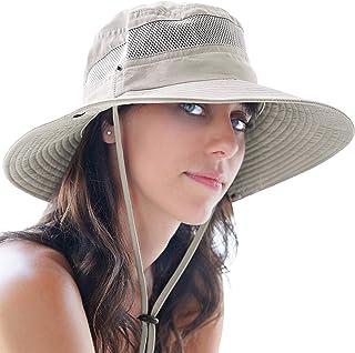 Fishing Hat and Safari Cap with Sun Protection   Premium UPF 50+ Hats for Men and Women - Navigator Series