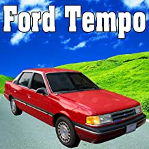 Ford Tempo, Internal Perspective: Drives at a Medium Speed, Slows to Stop, Idles & Shuts Off