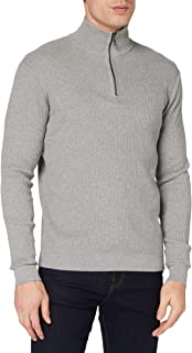 TOM TAILOR Men's Stehkragen Sweater