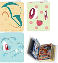 Totem World 3 Mini Album for Pokemon Cards - Each Mini Binder Album Holds 60 Cards - Top Load Sleeves Included - Protect Your Deck in Style - Inspired by Cyndaquil, Totodile, and Chikorita