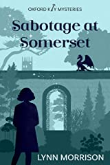 Sabotage at Somerset: A charmingly fun paranormal cozy mystery (Oxford Key Mysteries Book 4) Kindle Edition