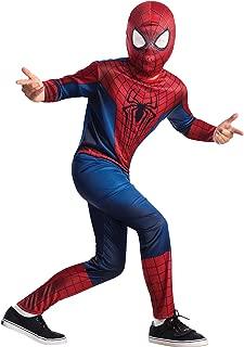 The Amazing Spider-man 2, Spider-man Value Costume, Child Medium (8-10)