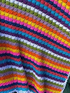 Handmade Baby Brights Afghan Blanket Throw