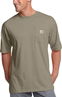 Carhartt mens K87 Workwear Short Sleeve T-shirt (Regular and Big & Tall Sizes)