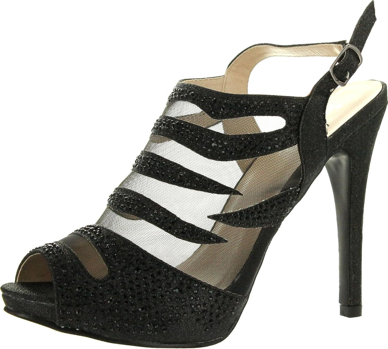 Silver Dew Womens Christina-03 Dress Pumps shoes