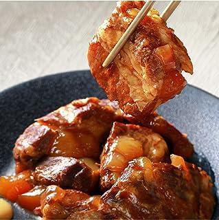 沖縄料理 炙り(あぶり)ソーキ 軟骨までぷるぷるやわらか お肉惣菜 レトルトおかず 常温保存 賞味期限1年 備蓄 非常食 300g✖︎5パックセット