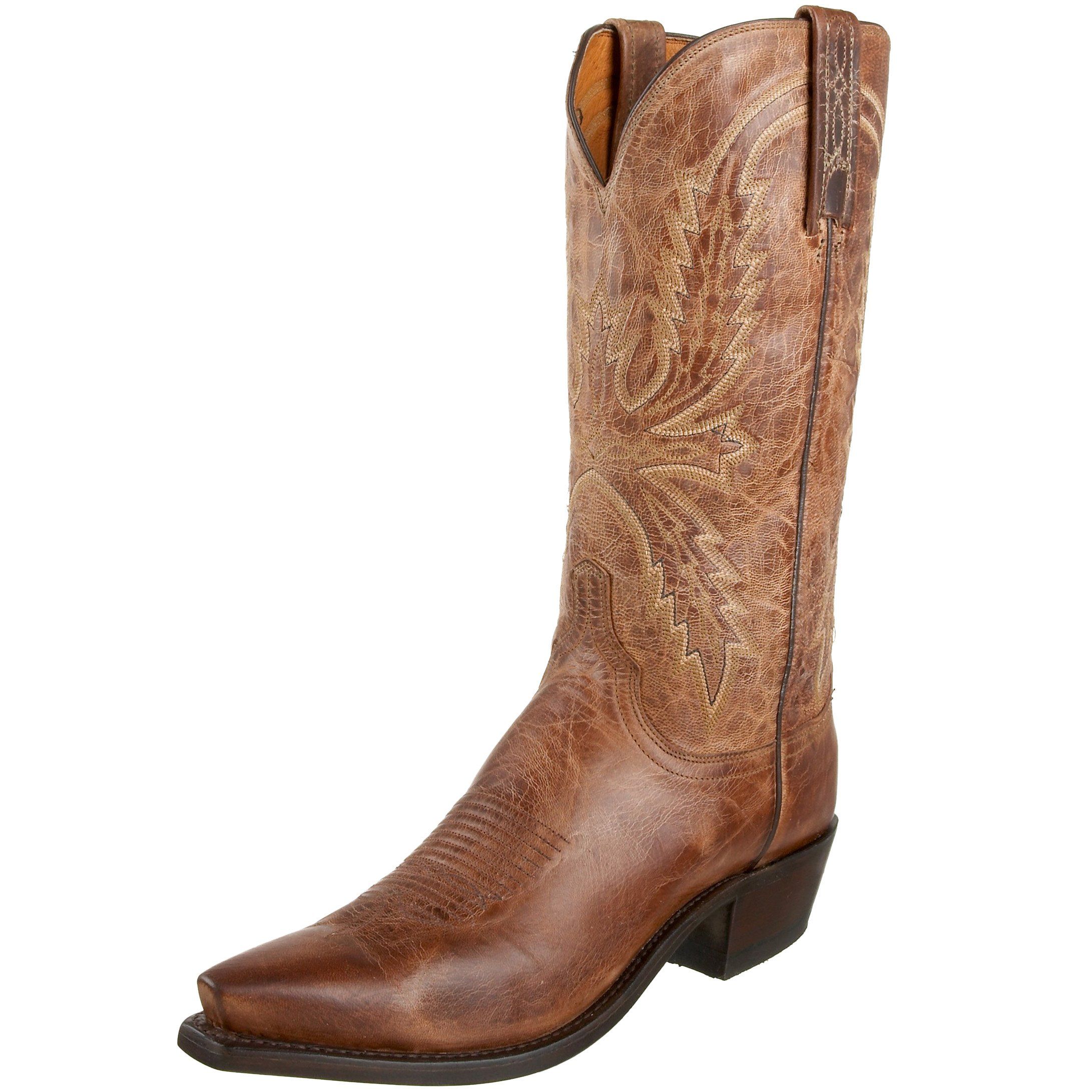 Lucchese N1547 54 Western Boots Burnish