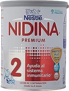 NESTLÉ NIDINA 2 - Leche de continuación en polvo - Fórmula Para bebés - A partir de los 6 meses -800g