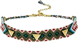 Triangle Stud Friendship Choker