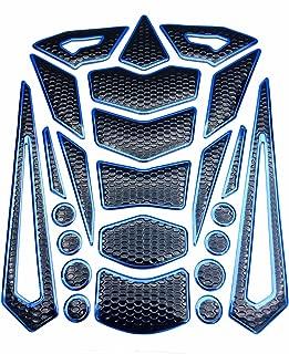 Niree Motorcycle Tank Gas Metallic Luster Protector Pad Sticker Decal for Honda CBR900RR CB599 / CB600 HORNET CBR 600 F2,F3,F4,F4i CB919 VTX1300 NC700 S/X (C02#)