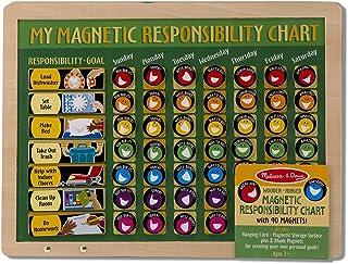 My Magnetic Responsibility Chart + FREE Melissa & Doug Scratch Art Mini-Pad Bundle [37891]