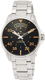 Hamilton - Reloj de Hombre automático 42mm Correa y Caja de Acero H64645131
