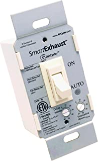AirCycler SmartExhaust Toggle Switch, Almond - SE1-A