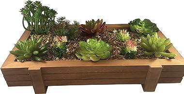 10 Artificial Succulent Plants - Create Realistic Succulent Arrangements, Faux Unpotted Succulent Decor, and Fake Succulent P