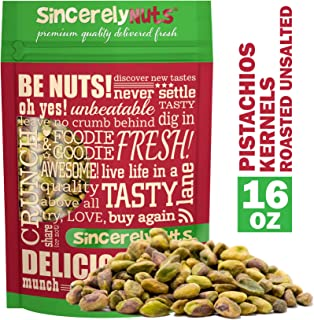 Best unsalted shelled pistachio nuts Reviews