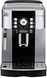 De'Longhi ECAM22110S Magnifica XS Fully Automatic Espresso Machine with Manual Cappuccino System, SILVER AND BLACK