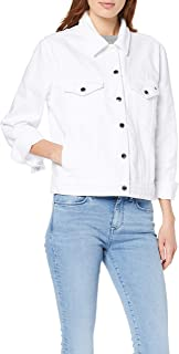 Tommy Hilfiger Veronica Denim Womens Jacket Classic White