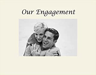 Oyster Infusion Gifts 3056-SO Our Engagement Engraved Photo Frame Small
