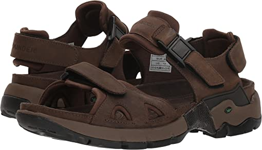 Brown Waxy Leather/Dark Brown Neoprene