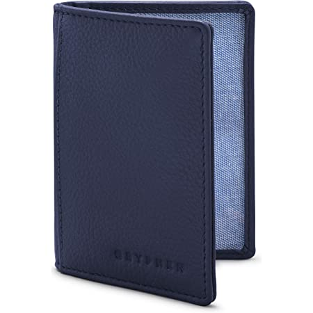 The Hoxton Leather Oyster Card/Travel Pass Holder by Gryphen