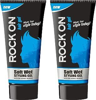 Rockon Soft Wet Styling Hair Gel (60gm) (Pack Of 2)