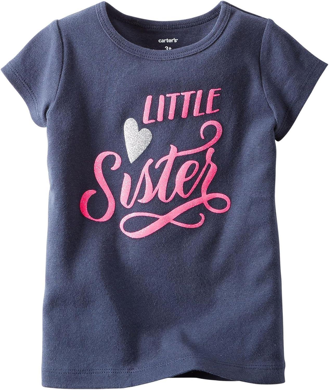 Carter's Baby Girls' Slogan Tee (Baby) - Big Sister