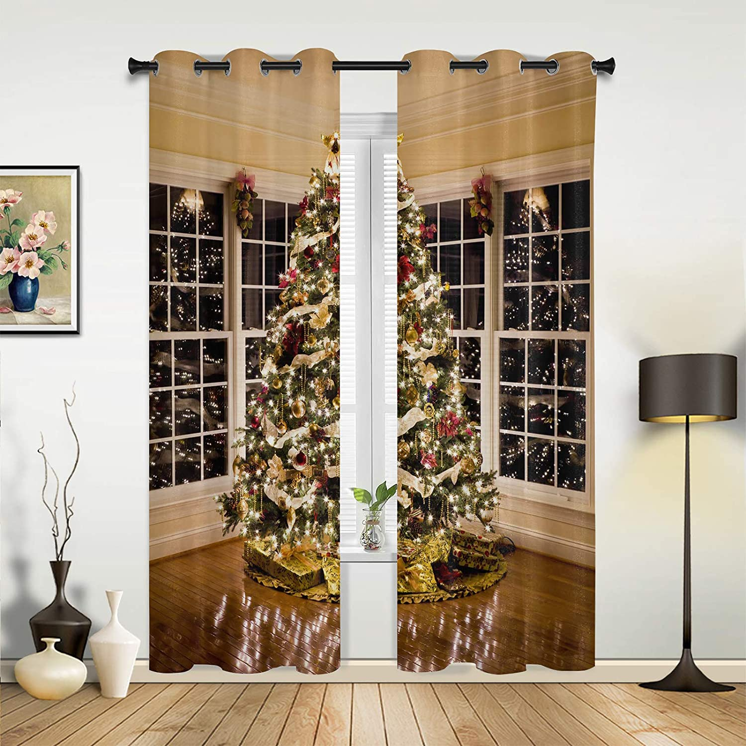 Beauty Soldering Decor Window Sheer Curtains Living Winte Bedroom Room High quality new for