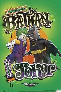 Trends International Lego Batman-Faceoff Clip Wall Poster, 22.375
